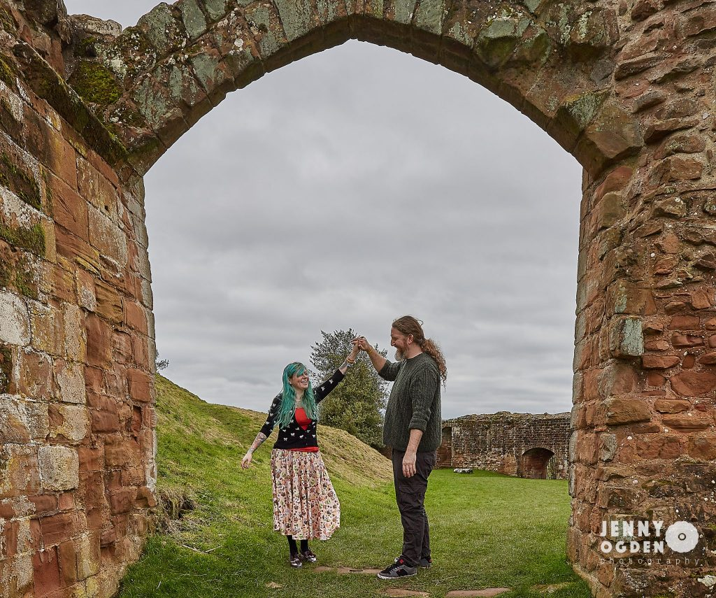 Kenilworth Castle photoshoot